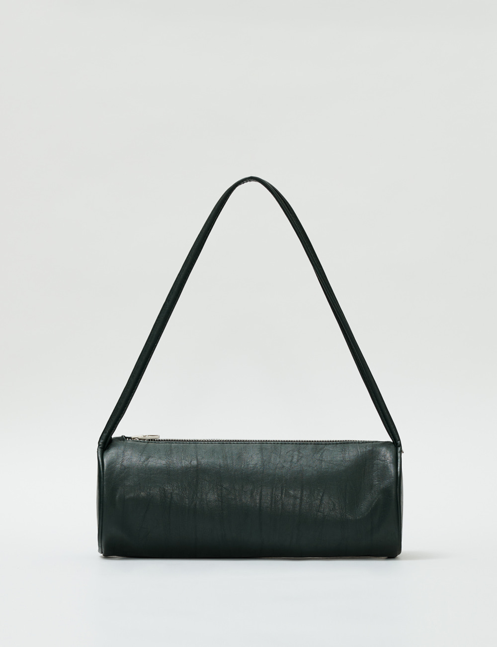 Minimal Barrel Bag_Dark Green
